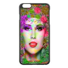 Flowers In Your Hair Apple Iphone 6 Plus/6s Plus Black Enamel Case by icarusismartdesigns