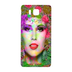 Flowers In Your Hair Samsung Galaxy Alpha Hardshell Back Case by icarusismartdesigns