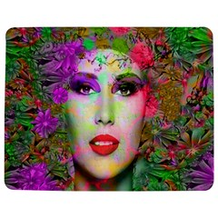 Flowers In Your Hair Jigsaw Puzzle Photo Stand (rectangular) by icarusismartdesigns