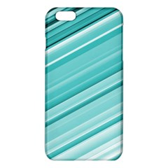 Teal And White Fun Iphone 6 Plus/6s Plus Tpu Case by timelessartoncanvas