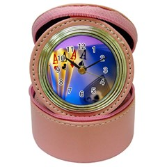 Poker Card Player Aces and Joker Jewelry Case Clock by DesignMonaco