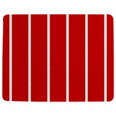White And Red Stripes Jigsaw Puzzle Photo Stand (rectangular) by timelessartoncanvas