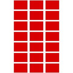 Red Cubes Stripes 5 5  X 8 5  Notebooks by timelessartoncanvas