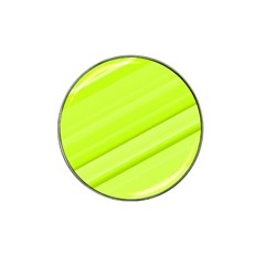Bright Green Stripes Hat Clip Ball Marker (4 Pack) by timelessartoncanvas