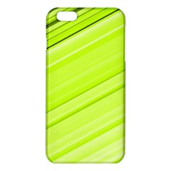 Bright Green Stripes Iphone 6 Plus/6s Plus Tpu Case by timelessartoncanvas