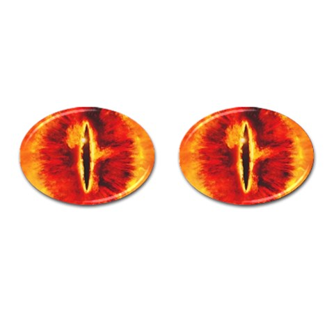 Sauron Cufflinks By Ed   Cufflinks (oval)   Puko0vy9fhoo   Www Artscow Com Front
