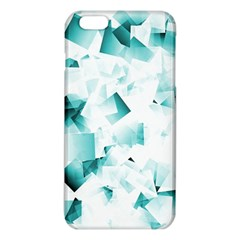 Modern Teal Cubes Iphone 6 Plus/6s Plus Tpu Case by timelessartoncanvas