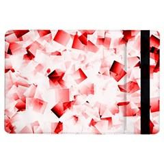 Modern Red Cubes Ipad Air Flip by timelessartoncanvas