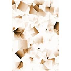 Modern Brown Cubes 5 5  X 8 5  Notebooks by timelessartoncanvas