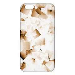 Modern Brown Cubes Iphone 6 Plus/6s Plus Tpu Case by timelessartoncanvas