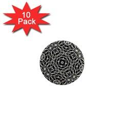 Polygons Pattern Print 1  Mini Magnet (10 Pack)  by dflcprints