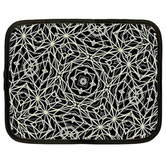 Polygons Pattern Print Netbook Case (large) by dflcprints
