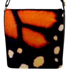 Butterfly Design 2 Flap Messenger Bag (s) by timelessartoncanvas