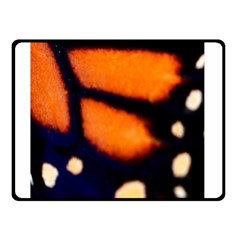 Butterfly Design 2 Double Sided Fleece Blanket (small)  by timelessartoncanvas