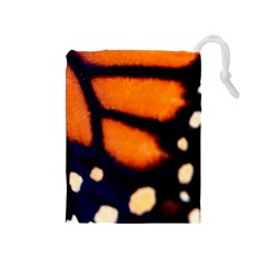 Butterfly Design 2 Drawstring Pouches (medium)  by timelessartoncanvas