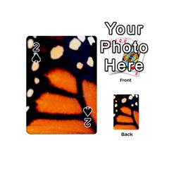 Butterfly Design 3 Playing Cards 54 (mini)  by timelessartoncanvas