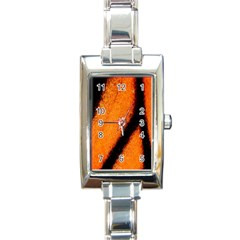 Butterfly Design 5 Rectangle Italian Charm Watches by timelessartoncanvas