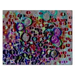 A Dream Of Bubbles 2 Rectangular Jigsaw Puzzl by sirhowardlee