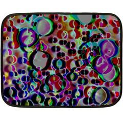 A Dream Of Bubbles 2 Double Sided Fleece Blanket (mini)  by sirhowardlee