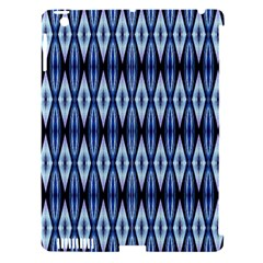 Blue White Diamond Pattern  Apple Ipad 3/4 Hardshell Case (compatible With Smart Cover) by Costasonlineshop