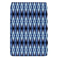 Blue White Diamond Pattern  Flap Covers (s)  by Costasonlineshop