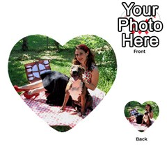 Pittie Picnic 2011 Multi Purpose Cards (heart)  by ButThePitBull