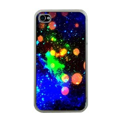 Cosmic Scenery Apple Iphone 4 Case (clear)