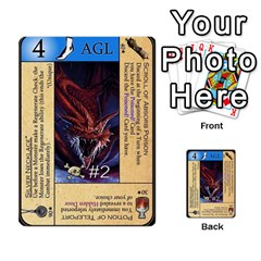 Dungeon Of D 2 Of 2 By Caleb Goerzen   Multi Purpose Cards (rectangle)   R6jeixacebr4   Www Artscow Com Front 51