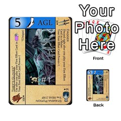 Dungeon Of D 2 Of 2 By Caleb Goerzen   Multi Purpose Cards (rectangle)   R6jeixacebr4   Www Artscow Com Front 15