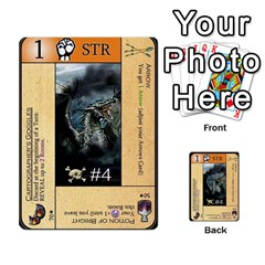 Dungeon Of D 2 Of 2 By Caleb Goerzen   Multi Purpose Cards (rectangle)   R6jeixacebr4   Www Artscow Com Front 24