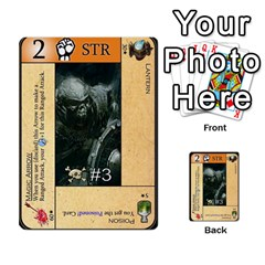 Dungeon Of D 2 Of 2 By Caleb Goerzen   Multi Purpose Cards (rectangle)   R6jeixacebr4   Www Artscow Com Front 25