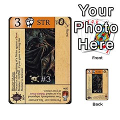 Dungeon Of D 2 Of 2 By Caleb Goerzen   Multi Purpose Cards (rectangle)   R6jeixacebr4   Www Artscow Com Front 26