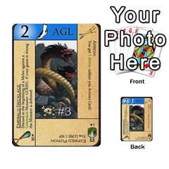 Dungeon Of D 2 Of 2 By Caleb Goerzen   Multi Purpose Cards (rectangle)   R6jeixacebr4   Www Artscow Com Front 30
