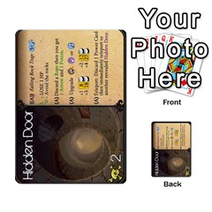 Dungeon Of D 2 Of 2 By Caleb Goerzen   Multi Purpose Cards (rectangle)   R6jeixacebr4   Www Artscow Com Front 45