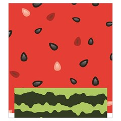 Watermelon By Dress   Drawstring Pouch (large)   21bo57wlnfhk   Www Artscow Com Front