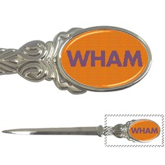 Comic Book Wham Dots Letter Openers by ComicBookPOP
