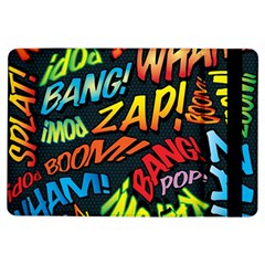 Comic Book Sounds iPad Air Flip by ComicBookPOP