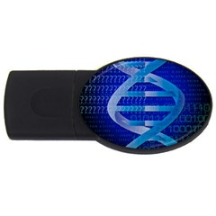 Dna Identity USB Flash Drive Oval (2 GB)  by ScienceGeek