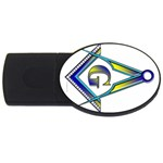 S-C GMOTMS USB Flash Drive Oval (4 GB)