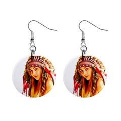 Indian 26 Mini Button Earrings