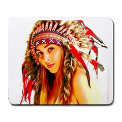 Indian 26 Large Mousepads by indianwarrior
