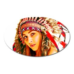 Indian 26 Oval Magnet by indianwarrior
