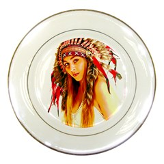 Indian 26 Porcelain Plates by indianwarrior