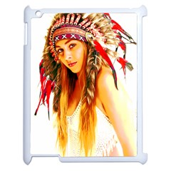 Indian 26 Apple Ipad 2 Case (white) by indianwarrior