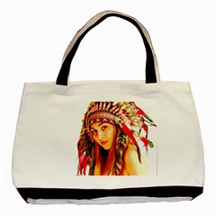 Indian 26 Basic Tote Bag (two Sides) by indianwarrior