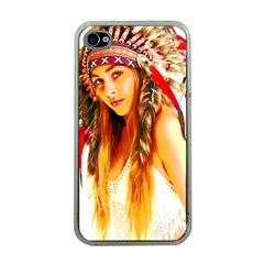 Indian 26 Apple Iphone 4 Case (clear) by indianwarrior