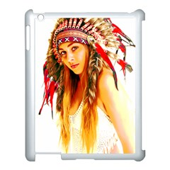Indian 26 Apple Ipad 3/4 Case (white) by indianwarrior