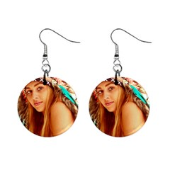 Indian 27 Mini Button Earrings by indianwarrior