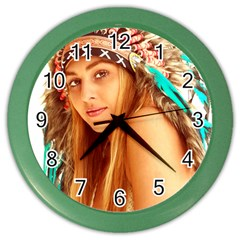 Indian 27 Color Wall Clocks by indianwarrior