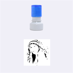 Indian 27 Rubber Round Stamps (Small) by indianwarrior